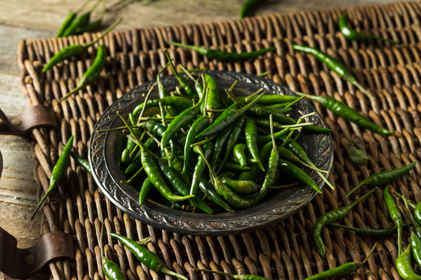 areflect green chillies