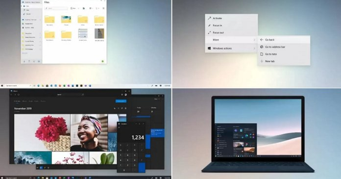 Windows UI Update
