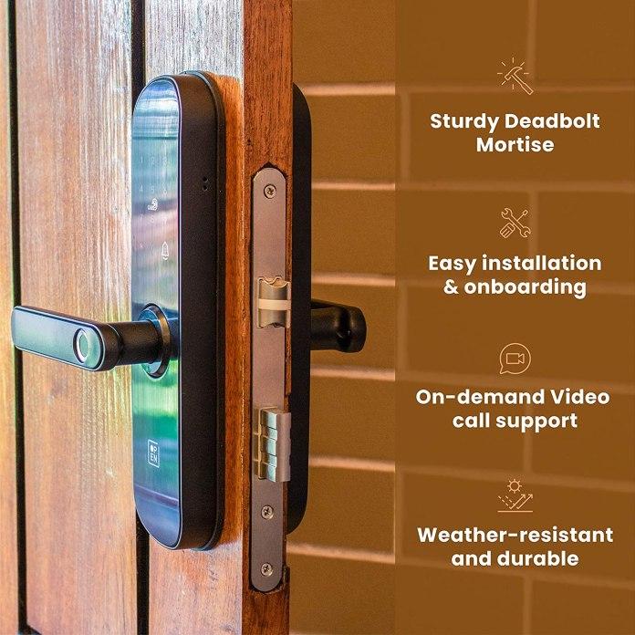 Smart door lock systems
