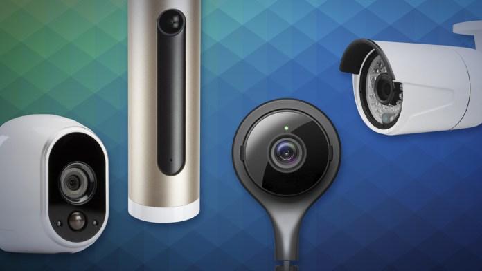 smart home security cameras