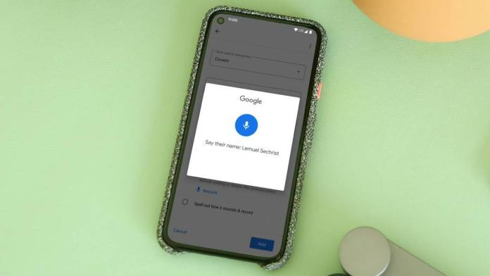 Google Assistance pronunciation