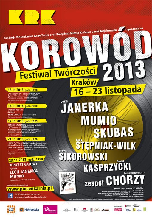 festiwal_tworczosci_korowod_2013_plakat