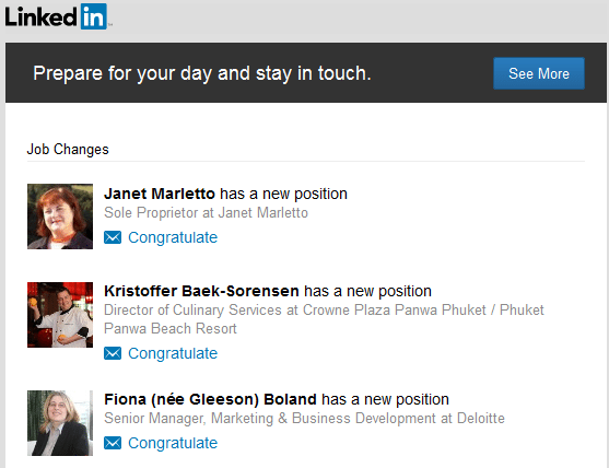 LinkedIn Contacts email