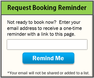 Email Booking Reminder Form