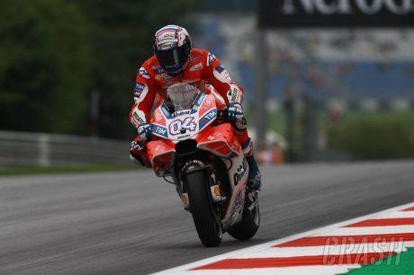 Pembalap Ducati - crash