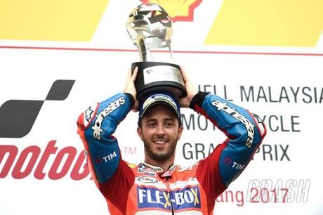 Andrea Dovizioso (Ducati) - crash