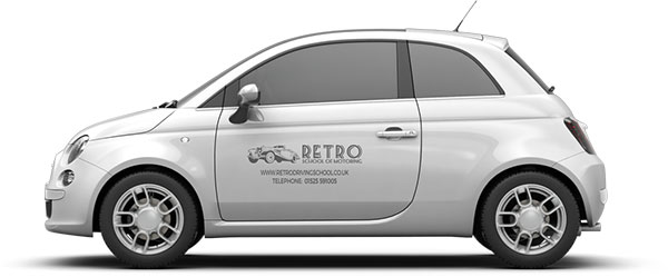 driving tuition by Retro Driving School in Milton Keynes
