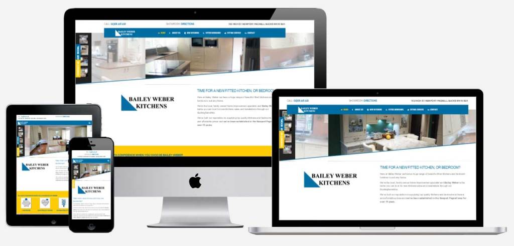 Bailey Weber Kitchens website