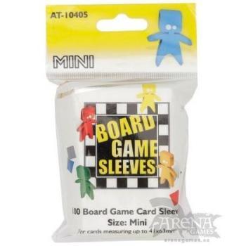 100 Fundas Arcane Tinmen – Juegos de Mesa Mini Americano 41x63mm