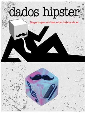 Dados Hipster Aquapunk