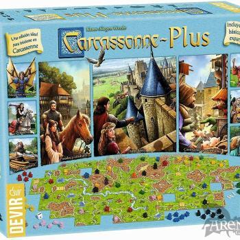 Carcassonne PLUS 2017 – Juegos de Mesa – Devir