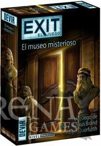 Exit: El Museo Misterioso – Juegos de Mesa – Devir