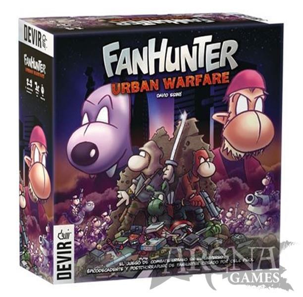 Fanhunter Urban Warface – Juegos de Mesa – Devir
