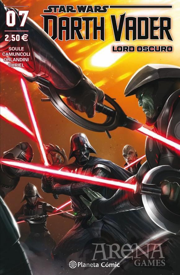 Star Wars - Darth Vader Lord Oscuro #07 - Planeta Comic