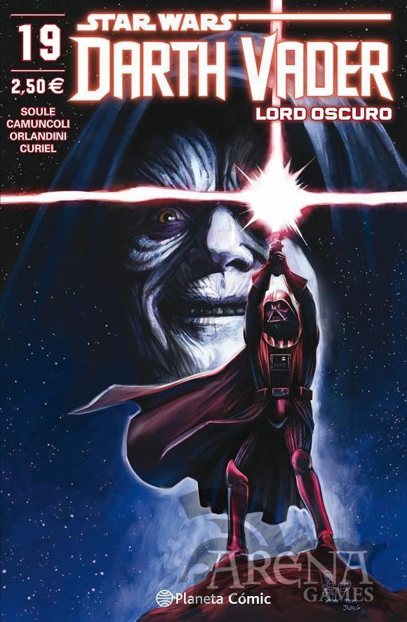 Star Wars - Darth Vader Lord Oscuro #19 - Planeta Comic