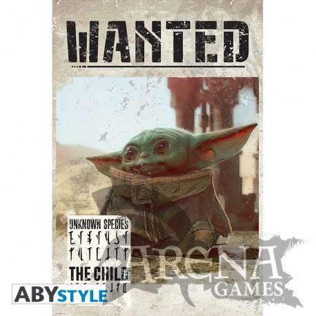 Poster 91,5x61 – The Mandalorian – Baby Yoda Wanted