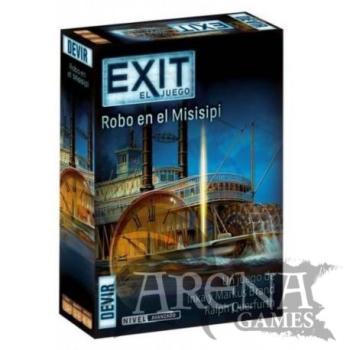 Exit: Robo en el Misisipi – Juegos de Mesa – Devir