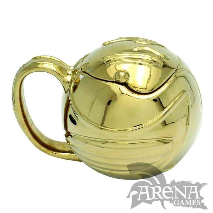 TAZA 3D – Harry Potter – Golden Snitch 450 ML