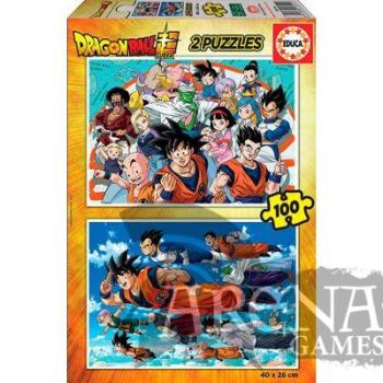 Puzzle Dragon Ball 2x100 piezas