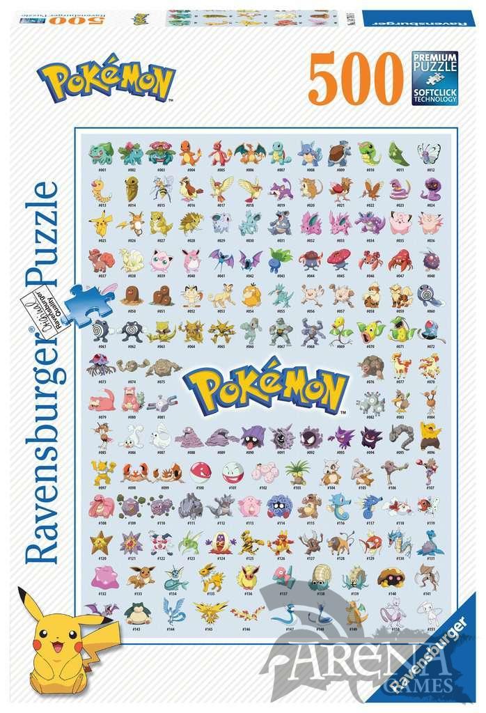 Puzzle 500 piezas Pokémon – Ravensburger