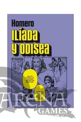 ILIADA Y ODISEA (Manga) - La otra h