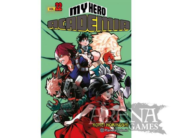 MY HERO ACADEMIA #22 - Planeta Comic