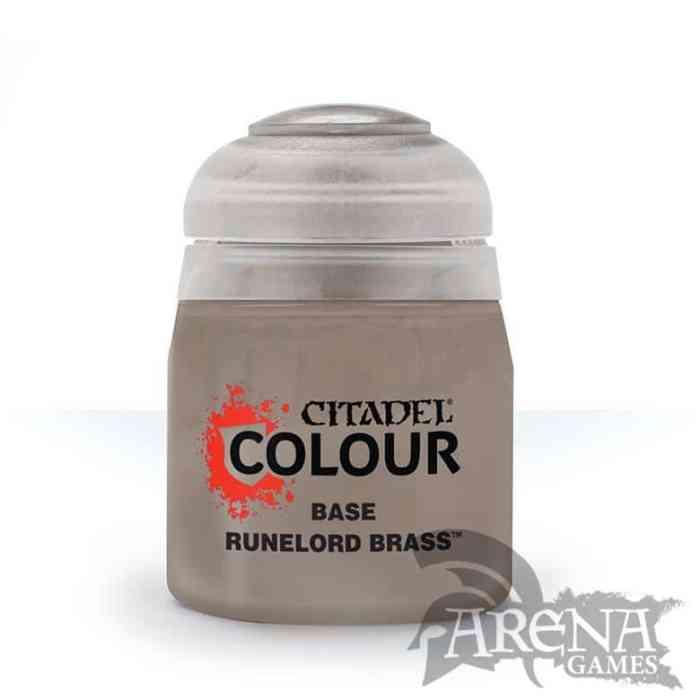 Citadel – Base – Runelord Brass 12ml | 21-55