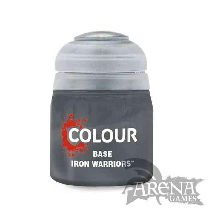 Citadel – Base – Iron Warriors 12ml   21-48