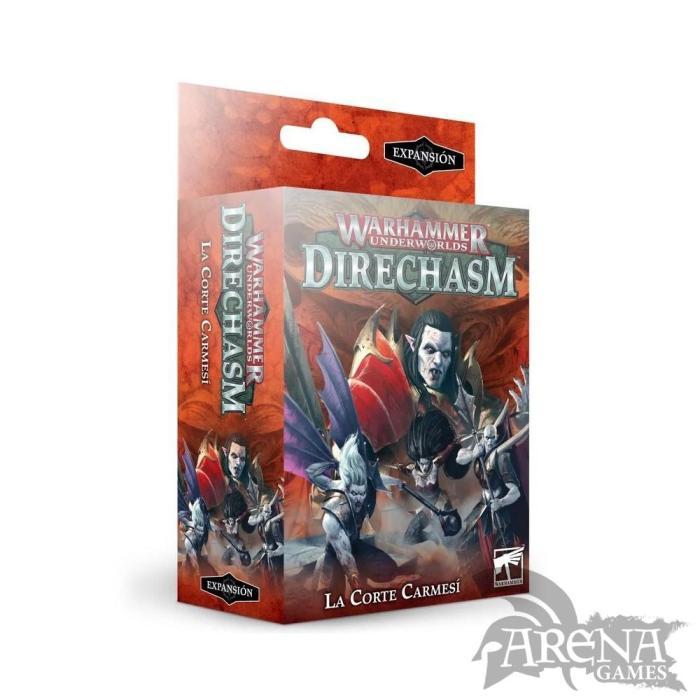 Warhammer Underworlds: Direchasm – La Corte Carmesí | 110-94
