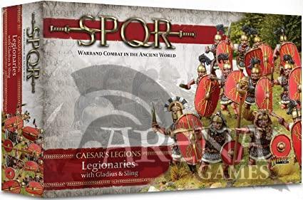 SPQR: Caesar's Legions Legionaries with Gladius & Sling