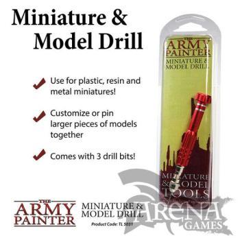 The Army Painter - Taladro Manual Modelismo