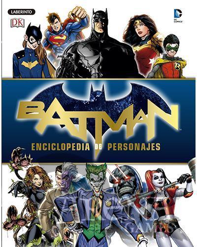 BATMAN ENCICLOPEDIA DE PERSONAJES - Laberinto