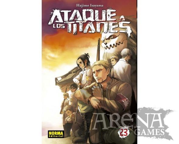 Ataque a los Titanes #23 - Norma