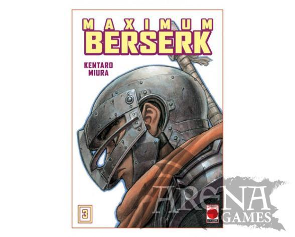 BERSERK MAXIMUN #03 - PANINI MANGA