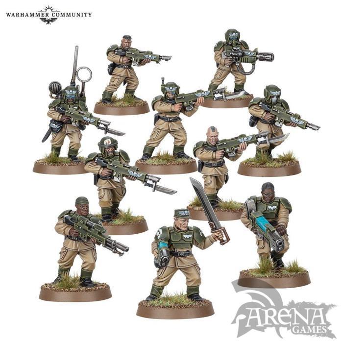 Cadian Shock Troops | 47-17