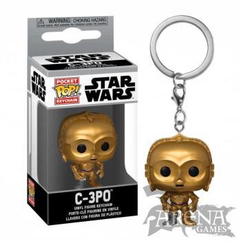Funko – Pocket POP! Keychain – Star Wars – C-3PO