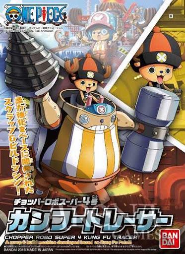 One Piece – Kung Fu Tracer Chopper Robo SUPER 4 MODEL KIT FIG 10 CM