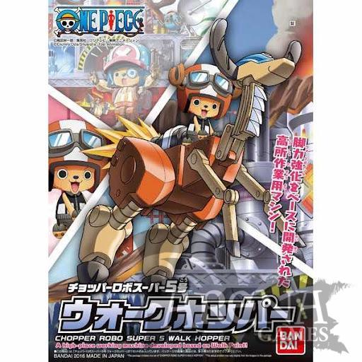 One Piece – Walk Hopper Chopper Robo SUPER 5 MODEL KIT FIG 10 CM