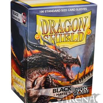100 Fundas Dragon Shield – Matte Black Non Glare
