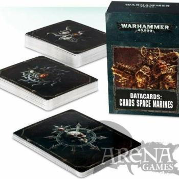 Datacards: Chaos Space Marines (Inglés) | 43-02-60