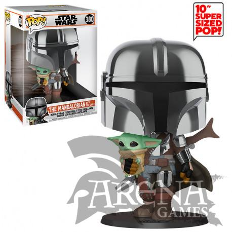 Funko - POP! Star Wars – 380 The Mandalorian with the Child 25cm