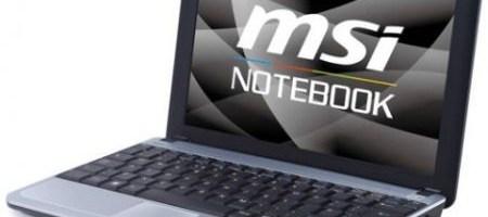 MSI a lansat netbook-ul U115 Hybrid