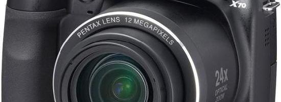 Pentax are camera de 24x zoom