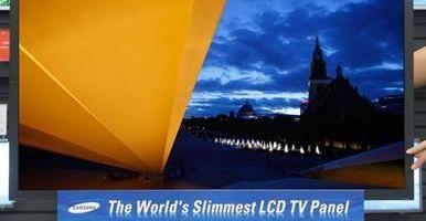 Samsung are cel mai subtire LCD TV