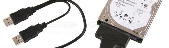 Cablu de la S-ATA la USB 2.0