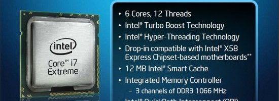 Intel lanseaza Core i7 980X