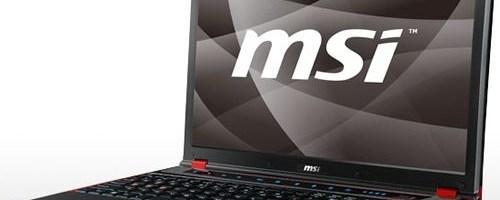 MSI GX640, notebook pentru jocuri