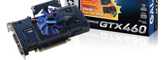 Galaxy GTX 460 cu ventilator detasabil
