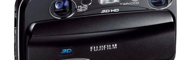 Fujifilm FinePix Real 3D W3 filmeaza HD