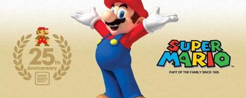 Super Mario implineste 25 de ani